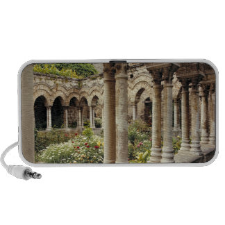 Italy, Sicily, Palermo. The cloisters survive as Travel Speaker