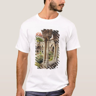 Italy, Sicily, Palermo. The cloisters survive as T-Shirt