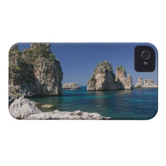 Italy, Sicily, Scopello, Rocks by Tonnara Case-Mate iPhone 4 Case
