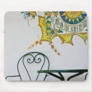 ITALY, Sicily, TAORMINA: Bam, Bar Cafe Detail Mouse Pad