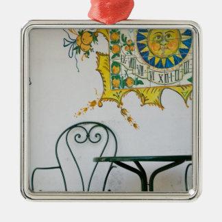 ITALY, Sicily, TAORMINA: Bam, Bar Cafe Detail Christmas Ornament