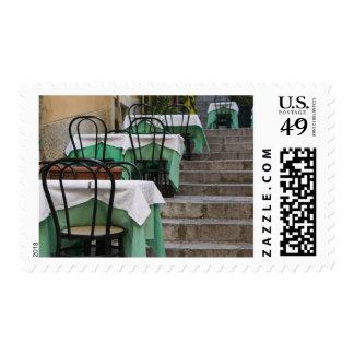 ITALY, Sicily, TAORMINA: Corso Umberto 1, Cafe Postage