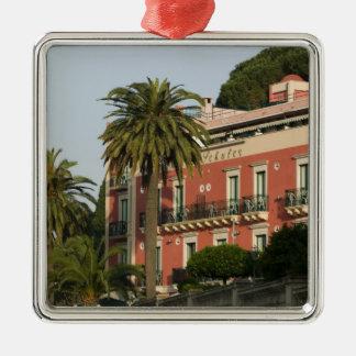 ITALY, Sicily, TAORMINA: Hotel Schuler Metal Ornament