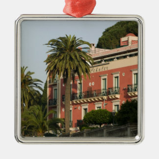 ITALY, Sicily, TAORMINA: Hotel Schuler Christmas Ornament