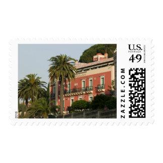 ITALY, Sicily, TAORMINA: Hotel Schuler Postage