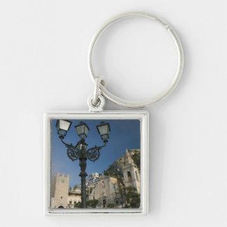 ITALY, Sicily, TAORMINA: Piazza iX Aprile, San Keychain