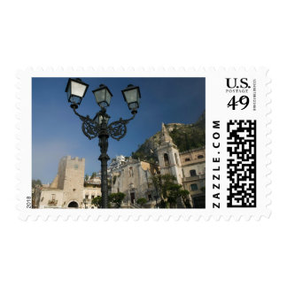 ITALY, Sicily, TAORMINA: Piazza iX Aprile, San Postage