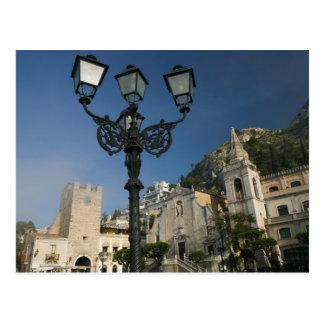 ITALY, Sicily, TAORMINA: Piazza iX Aprile, San Postcard