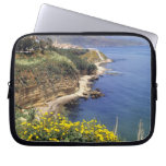 Italy, Sicily. The north coast of Sicily in Laptop Computer Sleeves