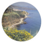 Italy, Sicily. The north coast of Sicily in Party Plates