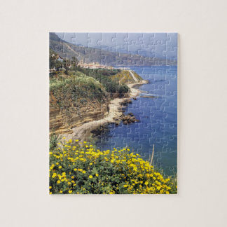 Italy, Sicily. The north coast of Sicily in Puzzles