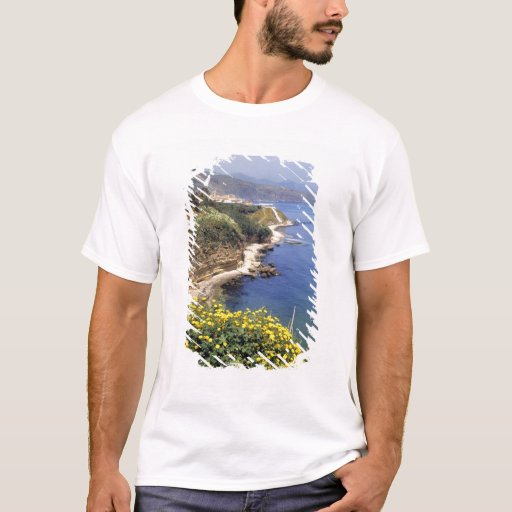 Italy, Sicily. The north coast of Sicily in T-Shirt