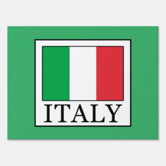 Italy Sign