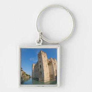 Italy, Sirmione, Lake Garda, the Scaliger Keychain