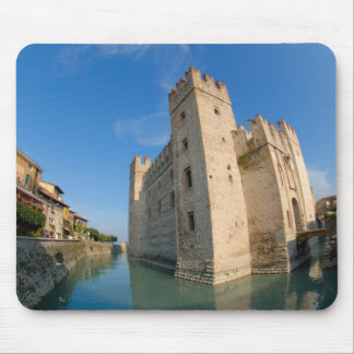Italy, Sirmione, Lake Garda, the Scaliger Mouse Pad