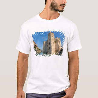 Italy, Sirmione, Lake Garda, the Scaliger T-Shirt