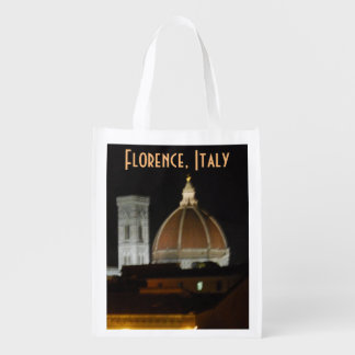 Italy Sites in Florence Italy Grocery Bag