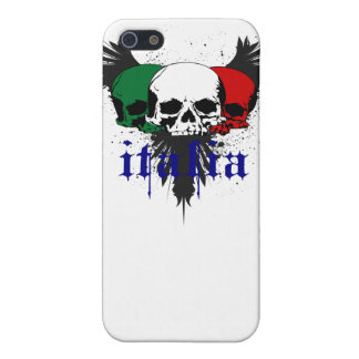 Italy Skull tattoo case