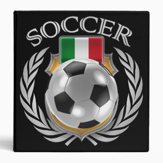 Italy Soccer 2016 Fan Gear 3 Ring Binder