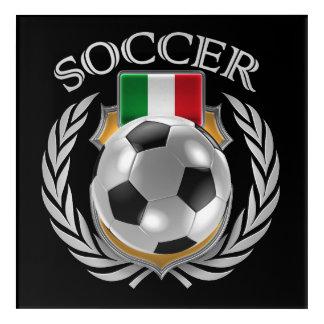 Italy Soccer 2016 Fan Gear Acrylic Wall Art