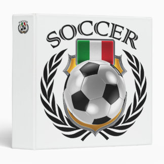 Italy Soccer 2016 Fan Gear Binder