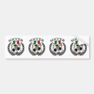 Italy Soccer 2016 Fan Gear Bumper Sticker