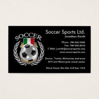 Italy Soccer 2016 Fan Gear Business Card