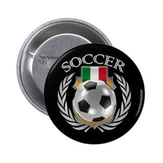 Italy Soccer 2016 Fan Gear Button