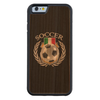 Italy Soccer 2016 Fan Gear Carved Cherry iPhone 6 Bumper Case