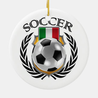 Italy Soccer 2016 Fan Gear Ceramic Ornament