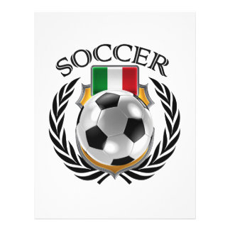 Italy Soccer 2016 Fan Gear Flyer
