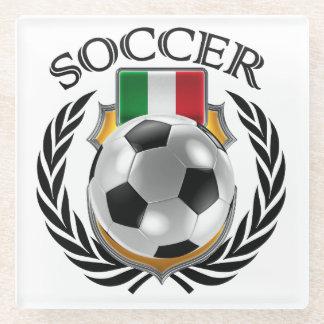 Italy Soccer 2016 Fan Gear Glass Coaster