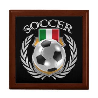 Italy Soccer 2016 Fan Gear Jewelry Box