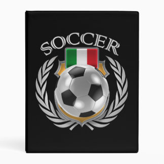 Italy Soccer 2016 Fan Gear Mini Binder