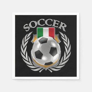 Italy Soccer 2016 Fan Gear Napkin
