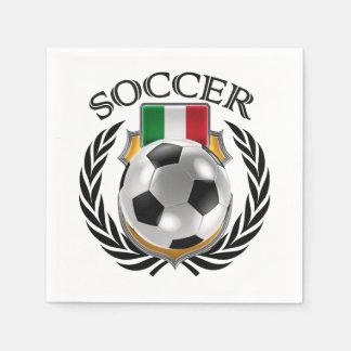 Italy Soccer 2016 Fan Gear Paper Napkin