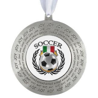 Italy Soccer 2016 Fan Gear Pewter Ornament