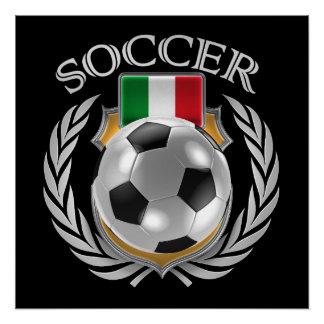 Italy Soccer 2016 Fan Gear Poster