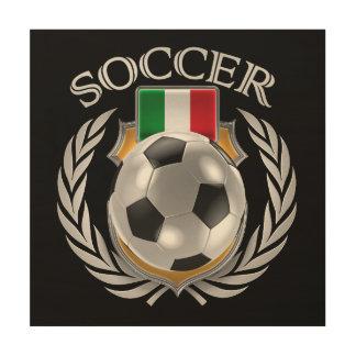 Italy Soccer 2016 Fan Gear Wood Wall Art