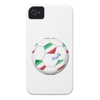 ITALY SOCCER ball and flag of the national team iPhone 4 Covers