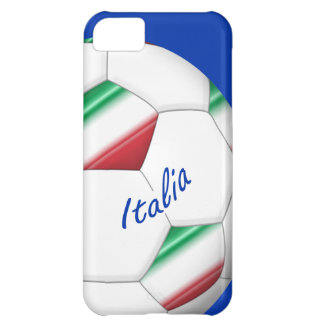 ITALY SOCCER ball of the national team and flag Cover For iPhone 5C