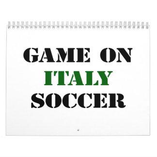 Italy Soccer Wall Calendar