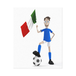Italy soccer canvas prints