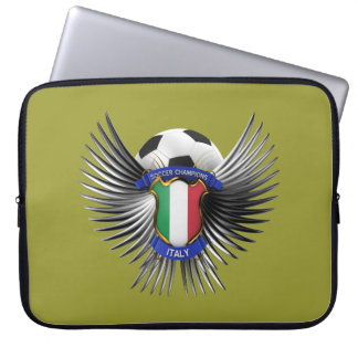 Italy Soccer Champions Laptop Computer Sleeve