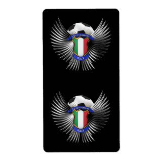 Italy Soccer Champions Shipping Label