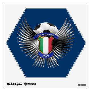 Italy Soccer Champions Wall Decal