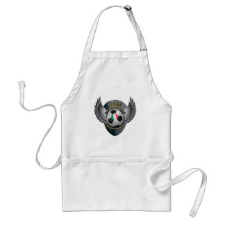 Italy Soccer Crest Apron