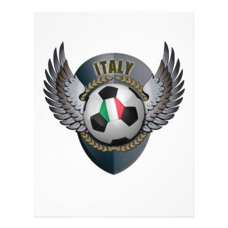Italy Soccer Crest Flyer