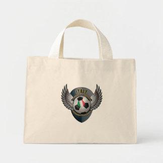 Italy Soccer Crest Mini Tote Bag
