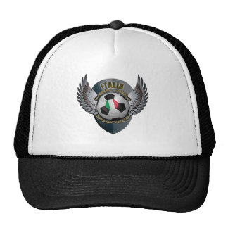 Italy Soccer Crest Trucker Hats